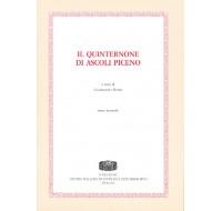03. IL QUINTERNONE DI ASCOLI PICENO, a cura di Gammario Borri.