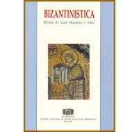 01) Bizantinistica - Vol. I (1999), pp. VI-356.