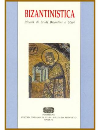 21) Bizantinistica - Vol. XXI (2020)