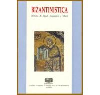 20) Bizantinistica - Vol. XX (2019)