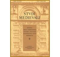 56-I) STUDI MEDIEVALI III serie, Volume LVI (2015), fascicolo 1, pp. 512.