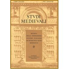 60-II) STUDI MEDIEVALI III serie, Volume LX (2019), fascicolo 2, pp. 501-1084.