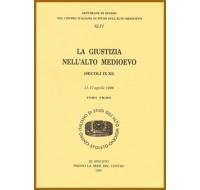 44) XLIV. LA GIUSTIZIA NELL'ALTO MEDIOEVO (secoli IX-XI)