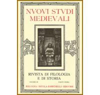 1) Nuovi Studi Medievali - Volume I (1923), parte I, pp. 1-210.