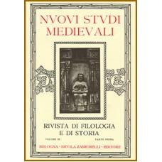 5) Nuovi Studi Medievali - Volume III (1926-1927), parte II, pp. 223-318.
