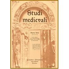 13) Studi Medievali, Nuova serie - Volume XIII (1940), pp. 190.