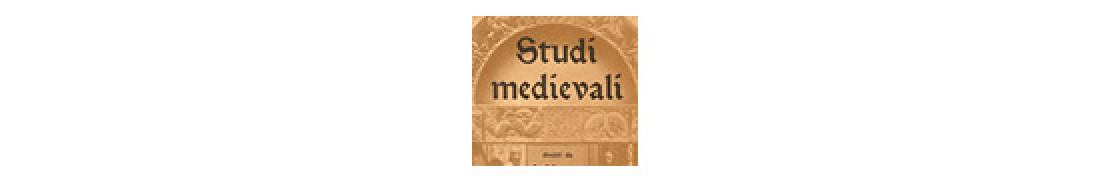 STUDI MEDIEVALI Prima serie
