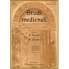 03) Studi Medievali, Prima serie - Volume 3 (1908-1911), pp. 714.